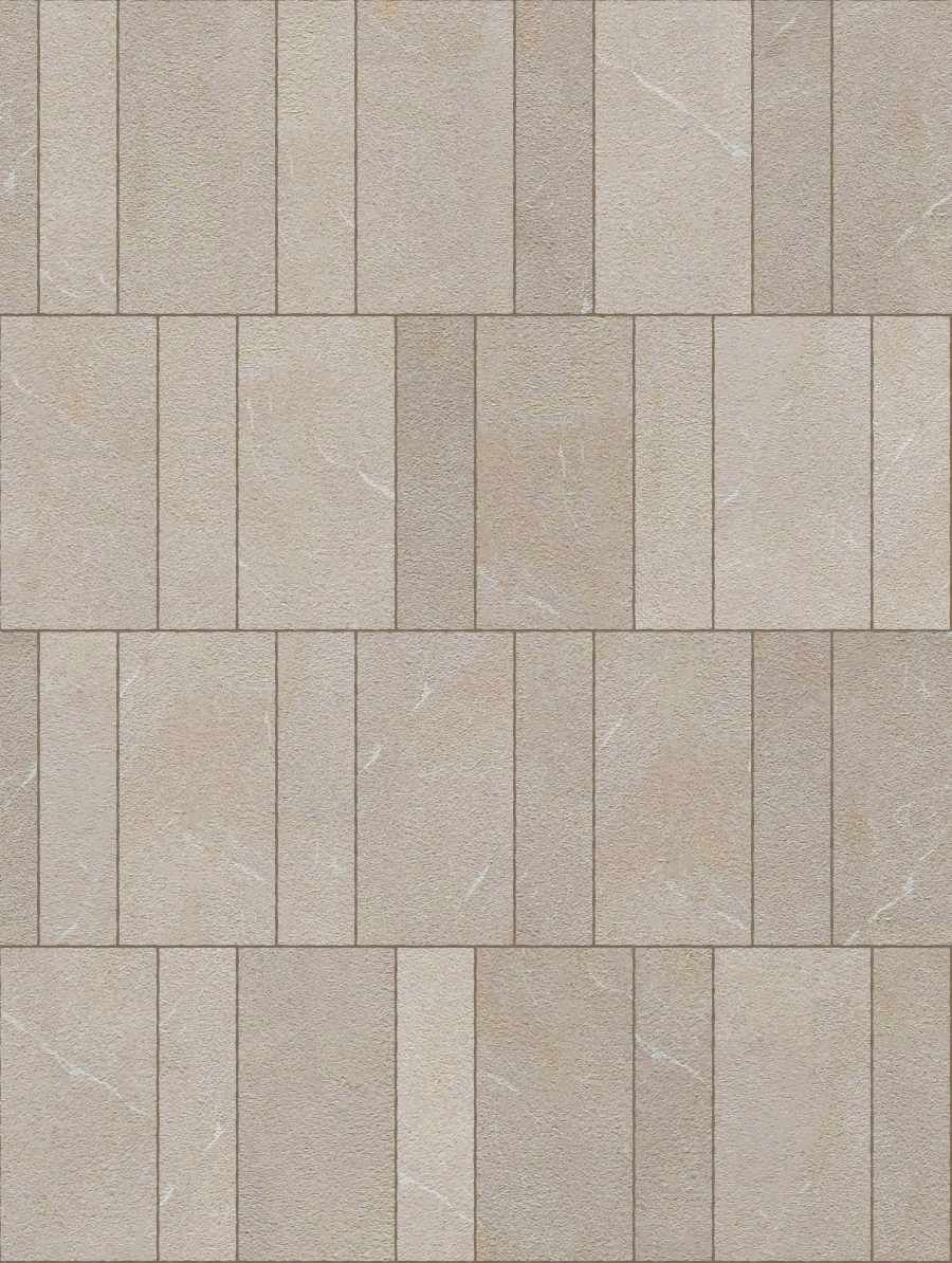 A seamless stone texture with limestone blocks arranged in a flemish pattern