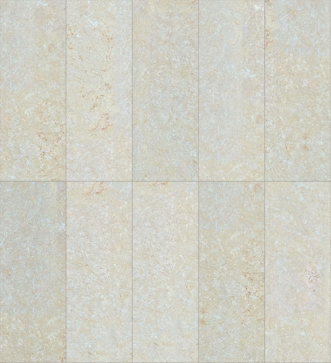 A seamless stone texture with reconstituted stone blocks arranged in a stack pattern