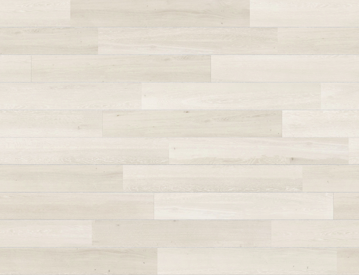 A seamless wood texture with white oiled timber boards arranged in a staggered pattern