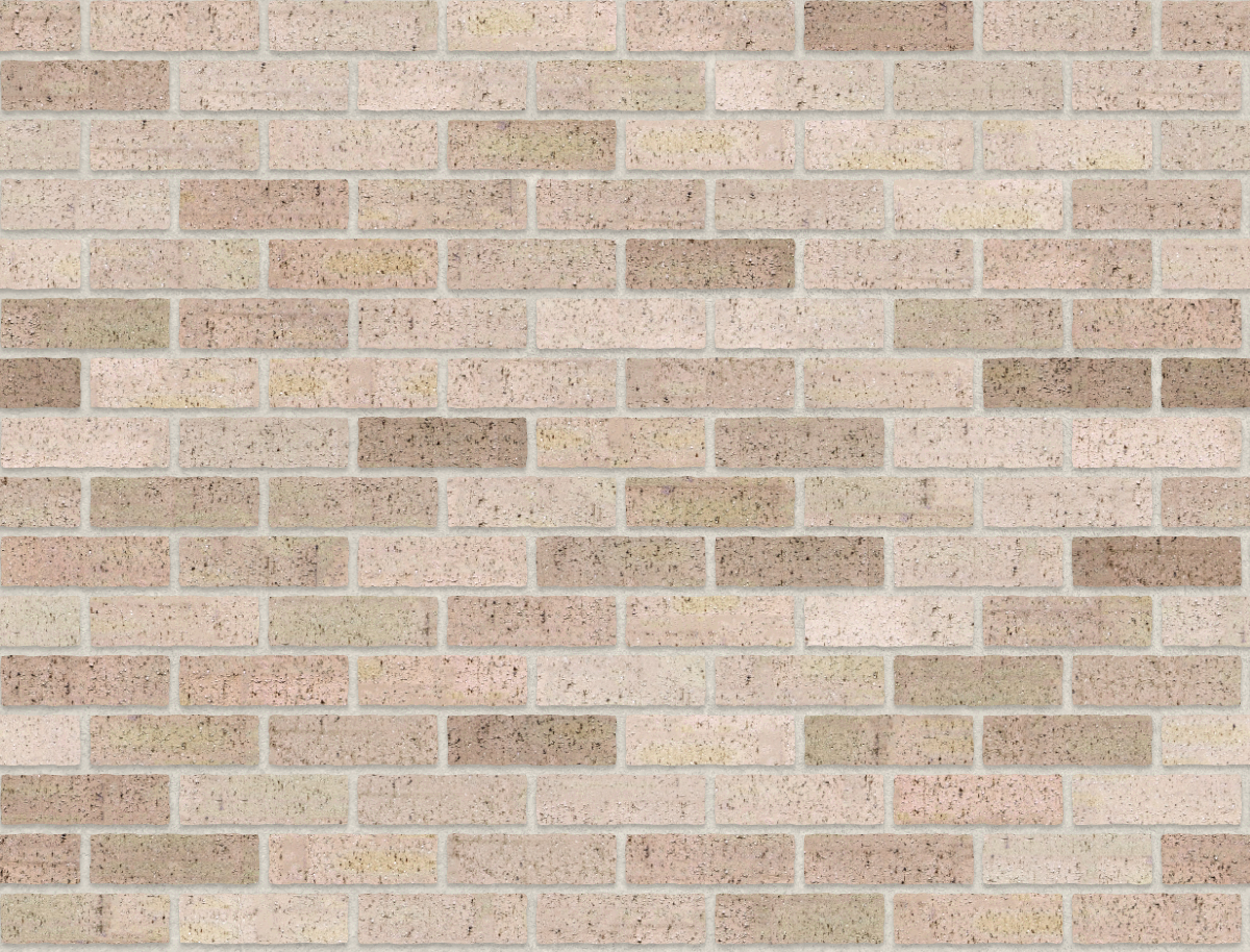 A seamless brick texture with even drag brick  arranged in a stretcher pattern