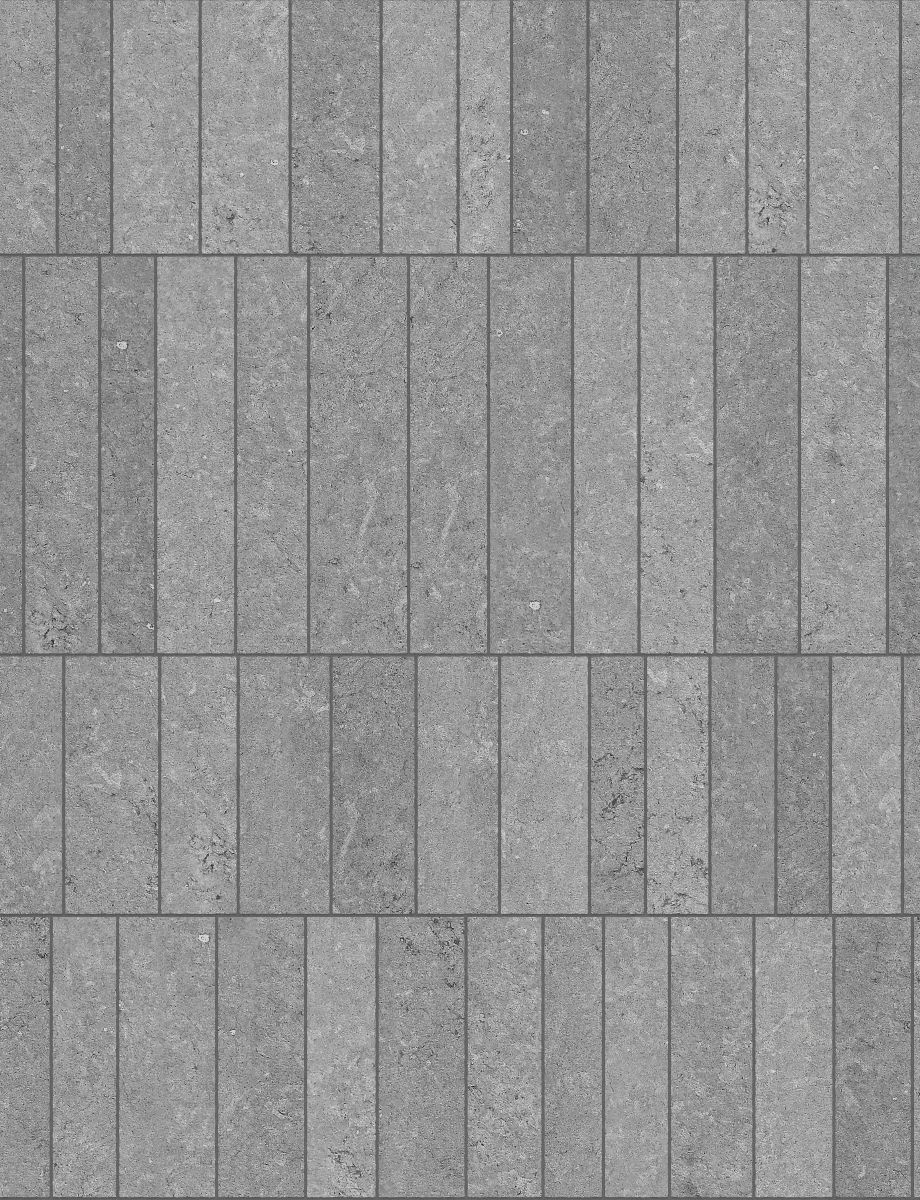 A seamless stone texture with reconstituted stone blocks arranged in a ashlar pattern