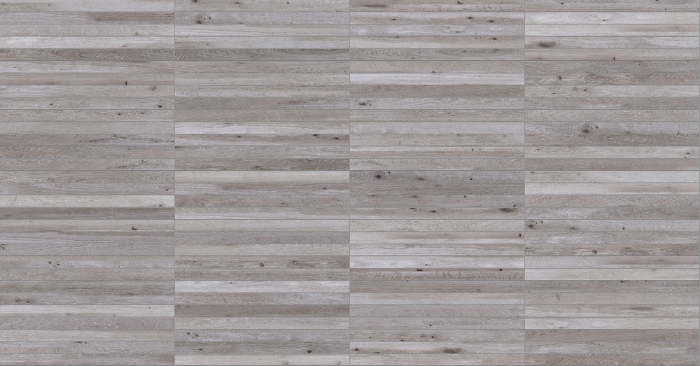 A seamless wood texture with weathered timber boards arranged in a stack pattern