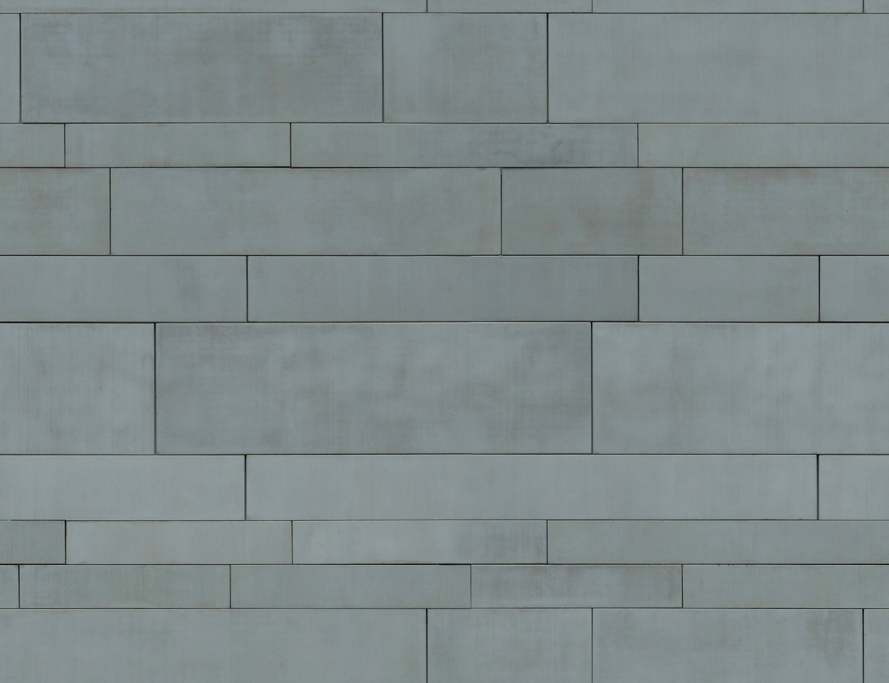 A seamless metal texture with  sheets arranged in a  pattern