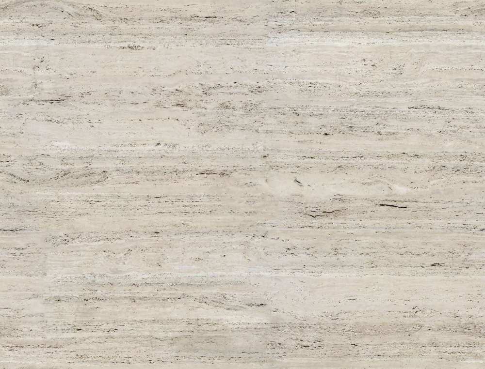 A seamless stone texture with travertine blocks arranged in a none pattern