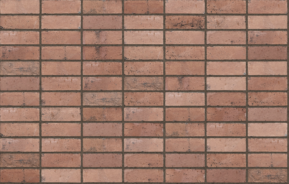 A seamless brick texture with pilotage  arranged in a stack pattern