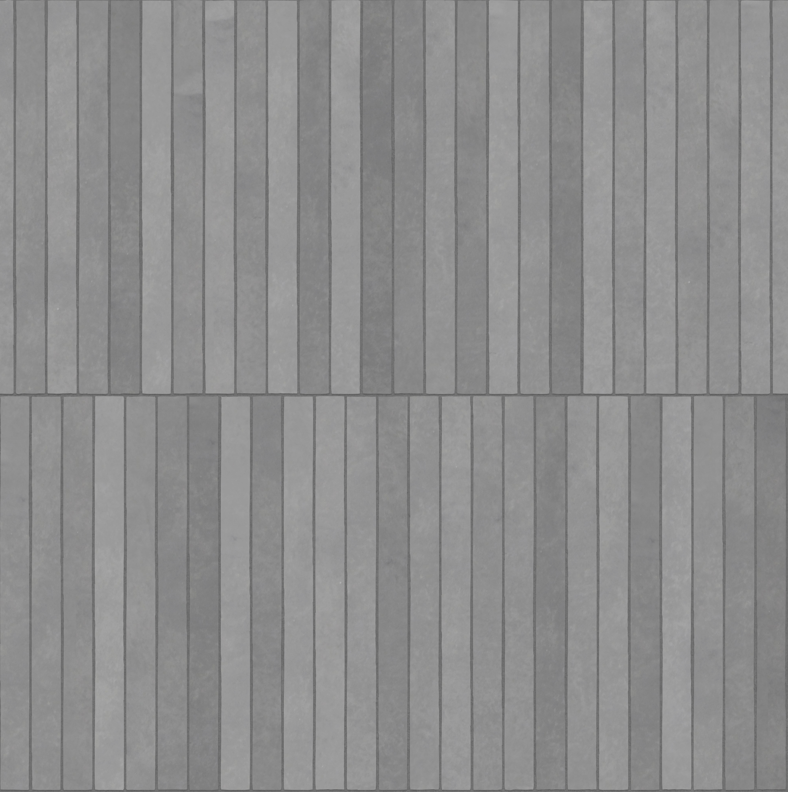 A seamless concrete texture with polished concrete blocks arranged in a stretcher pattern