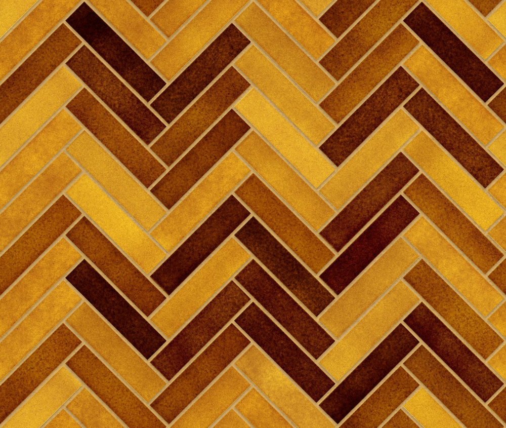 A seamless ceramic texture with excinere a tiles arranged in a herringbone pattern