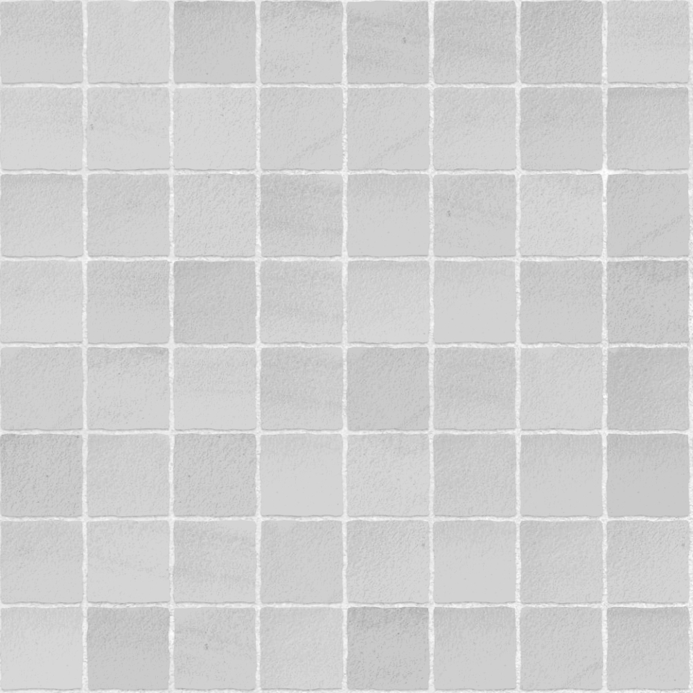 A seamless ceramic texture with matte tiles arranged in a stack pattern
