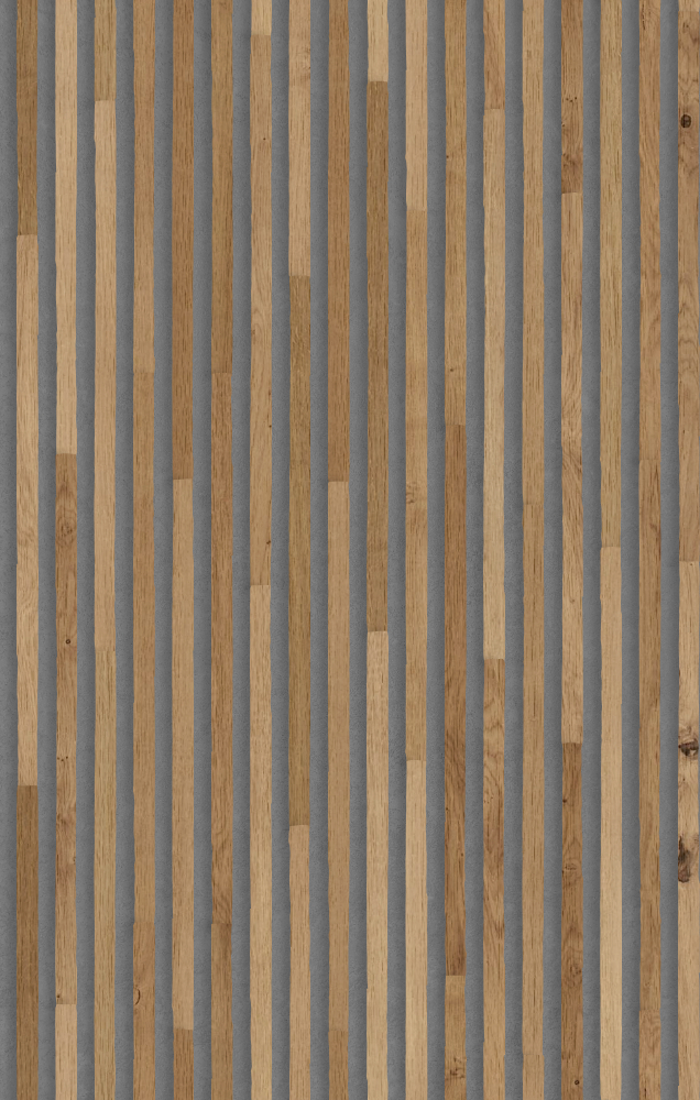 A seamless wood texture with oak boards arranged in a staggered pattern